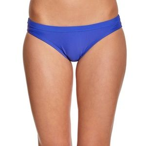 NWOT Nike Solid Blue Swimsuit Brief